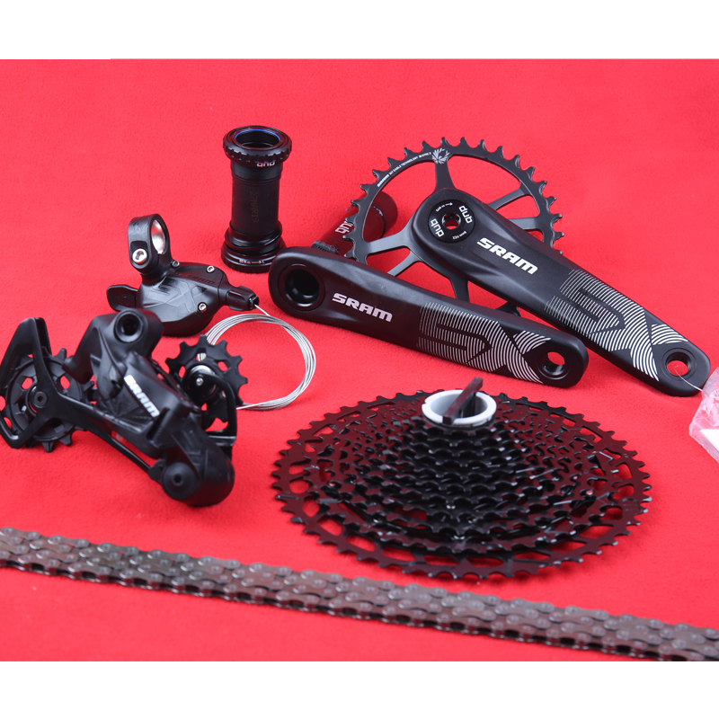 2019 NEW SRAM SX EAGLE 1x12 11 50T 12 speed Groupset Kit DUB Trigger Shifter Derailleur