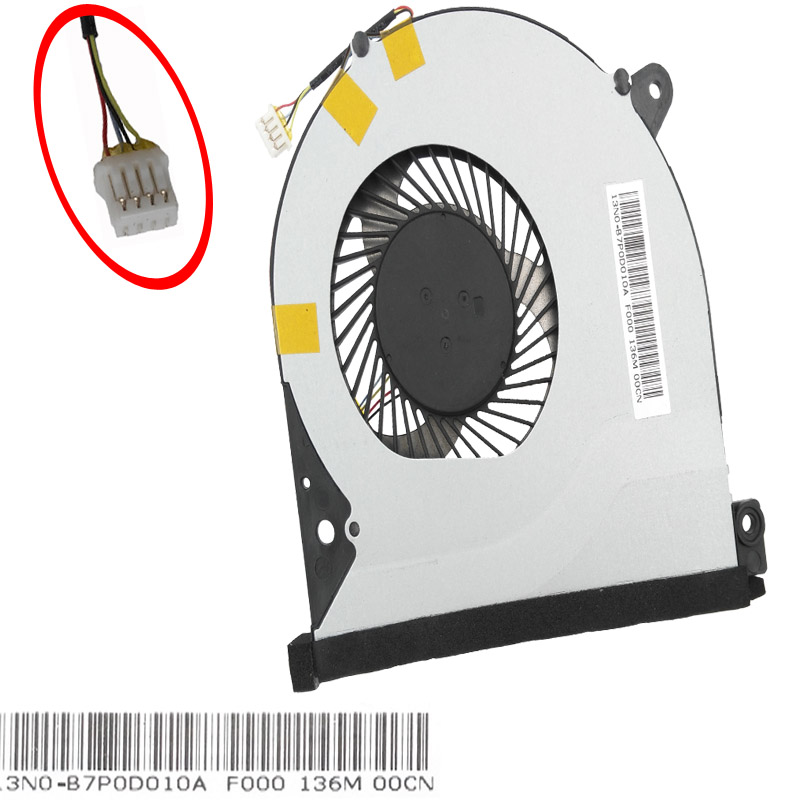 Купить с кэшбэком New Original Laptop Cooling Fan For Lenovo for IdeaPad S500 EG50050S1-C230-S99 Cooler CPU Cooler
