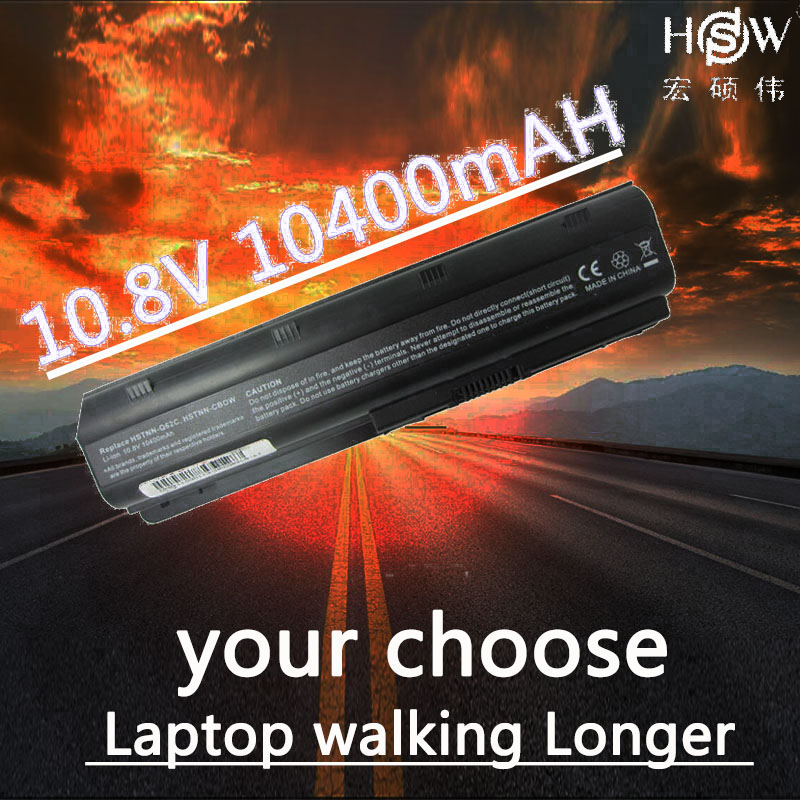 HSW Laptop Battery for HP Compaq MU06 MU09 CQ42 CQ32 G62 G72 G42 batteries 593553 001 battery for laptop DM4 593554 001 Battery in Laptop Batteries from Computer Office