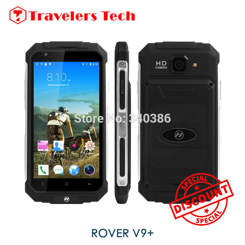 5.0 Inch Metal Frame Quad Core Land Big Battery Rugged Smartphone Android  ROVER V9+ 512 RAM