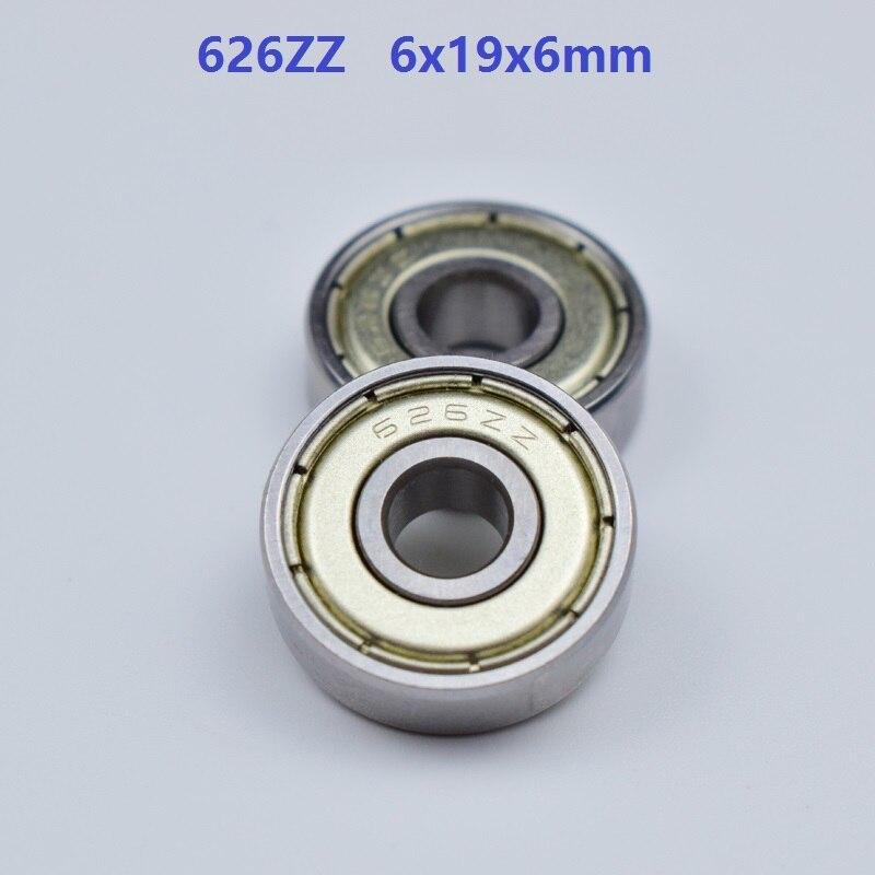 1000pcs lot 626ZZ 626 ZZ 626 ZZ 2Z 626Z 6 19 6mm Deep Groove Ball bearing