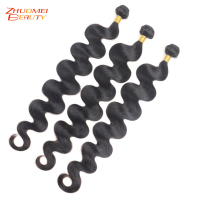Zhuomei 30 Inch 32 34 36 38 Inch 40 Inch Bundles Body Wave Brazilian Human Hair Weave Bundles Long Remy Hair 1/3/4 PCS Can Buy