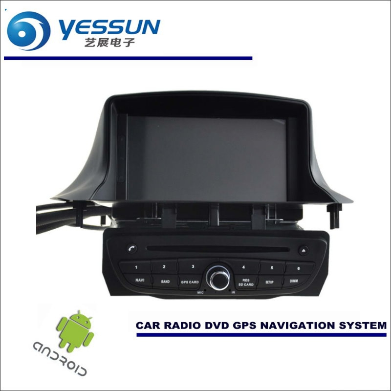 YESSUN Car <font><b>Android</b></font> Navigation System For Renault <font><b>Megane</b></font> <font><b>3</b></font> III 2008~2016 - Radio Stereo CD DVD Player GPS Navi BT HD Multimedia image
