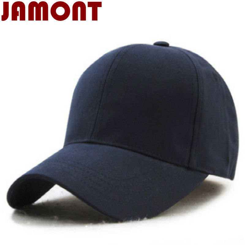 [JAMONT] unisex casual cotton plain baseball cap fashion blank snapback hat women men dad hat trucker bone casquette gorras women snapback cap for men adult casual solid sun hat cotton hip hop plain hat plain washed blank vintage baseball caps