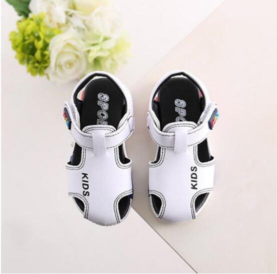Boys Kids Girls Sandals Fashion Summer Toddler Shoes Sandals Children Shoes Baby Girls Sandals Indoor Slippers