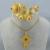 Regalos de boda Habesha etíope cruz juegos de joyería collar/pendientes/anillo/del brazalete chapado en oro de áfrica eritrea set #0002A200