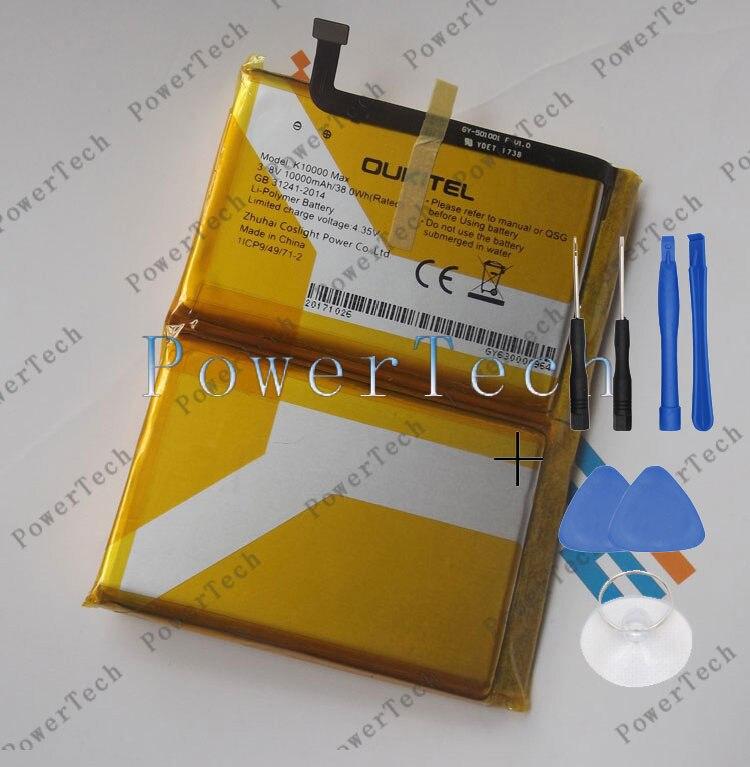 100% Original OUKITEL k10000 Bateria max para 5.5 polegadas oukitek k10000 max Mobile Phone