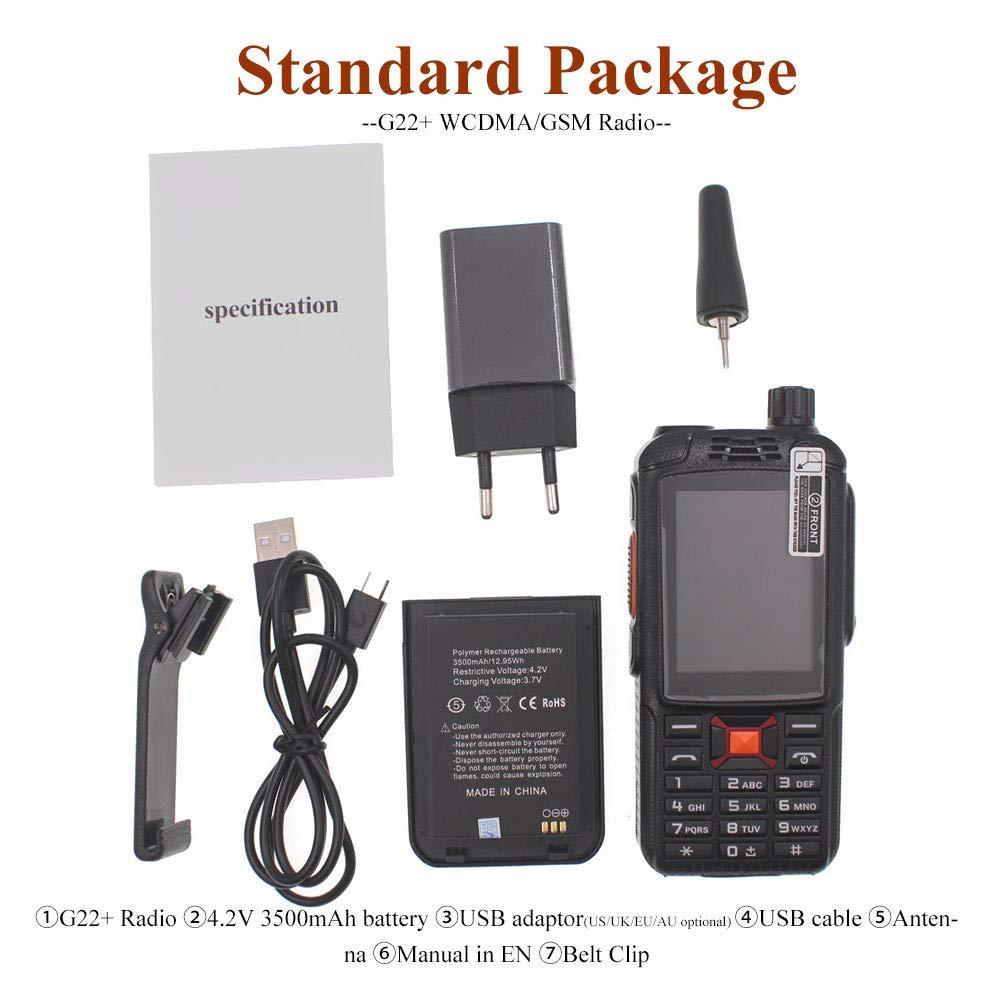 Купить с кэшбэком Anysecu WCDMA GSM 3G WIFI  Radio G22+ Android system FM Transcever 3G-22PLUS F22 Network radio work with Real-ptt/Zello