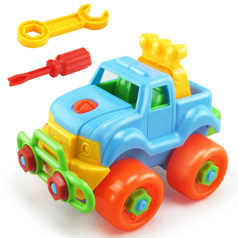 Christmas Toys Cars : Aliexpress buy disassembly assembly classic car toy