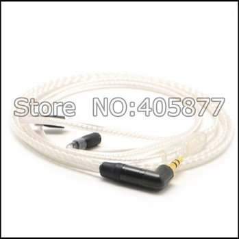 custom high quality silver plated headphone cable for Westone w10 w20 w30 w40 um30pro un50pro