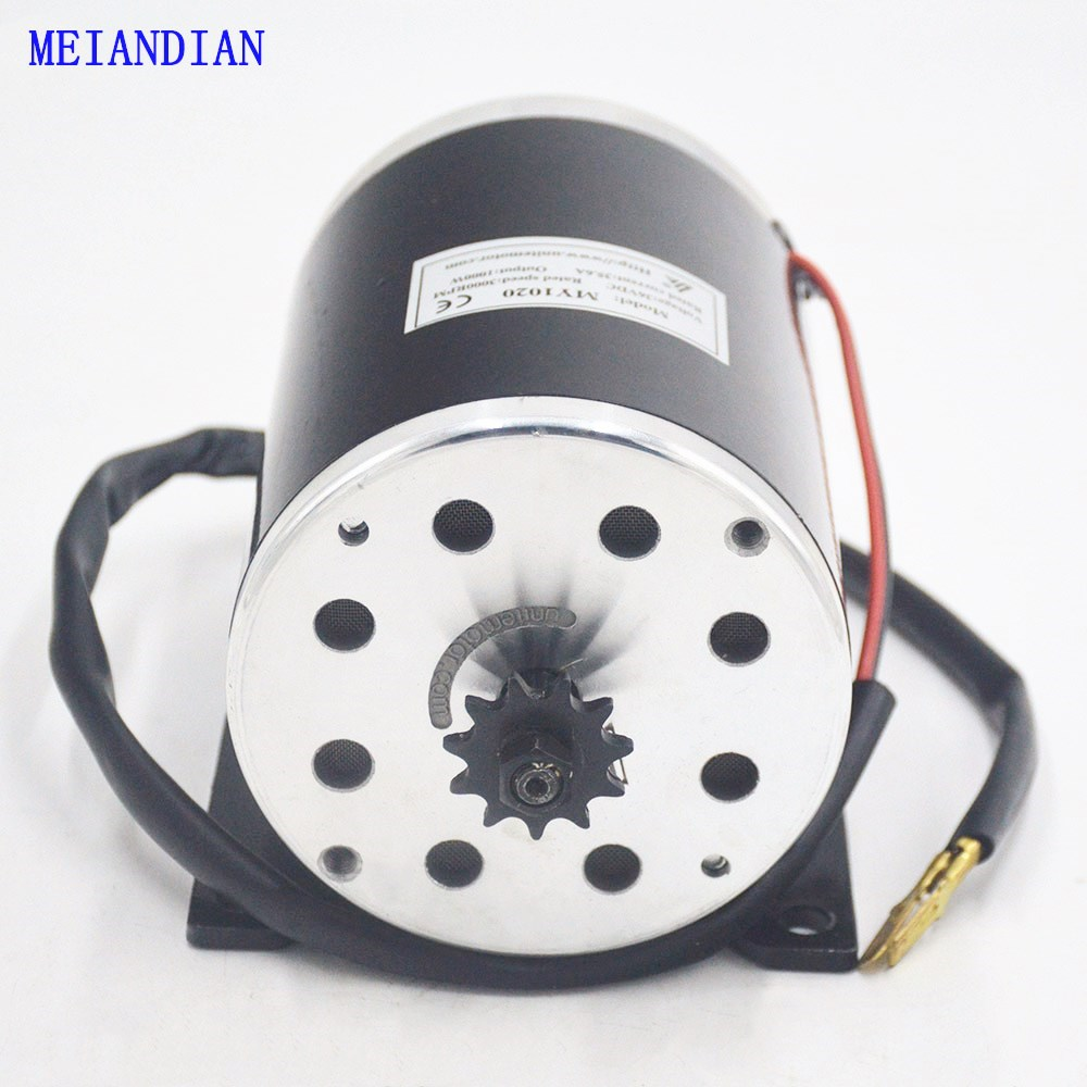 36V 48V 1000W Electric motor High Speed Brush Motor for Electric Bicycle E bike 1000W