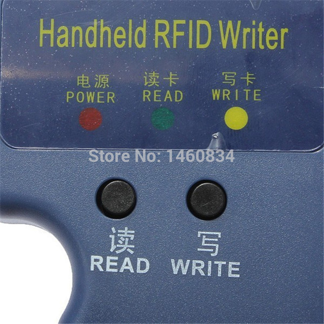 Handheld 125KHz RFID Copier Reader Writer RFID Duplicator EM4100 ID Copier Wholesale Price(Without Rewritable RFID Card Sample)