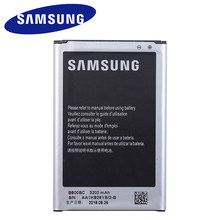 Samsung Battery for Galaxy Note 3 N900 N9006 N9005 N9000 N900A N900T N900P 3200mAh B800BE With NFC Samsung Original New Battery(China)