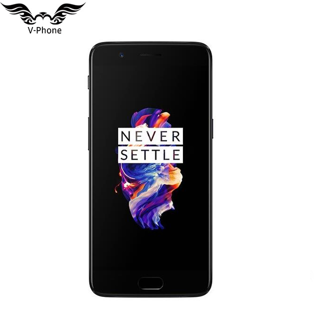 Nuovo Originale 6 gb 64 gb Smartphone Oneplus 5 Snapdragon 835 Octa Core LTE 4g Dual SIM 5.5