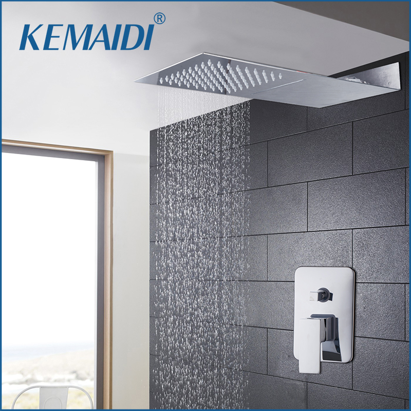 New Arrival Bathroom Faucet concealed shower Sets Luxury Rainfall Shower With Two Function Head Shower Mixer Shower Accessaries