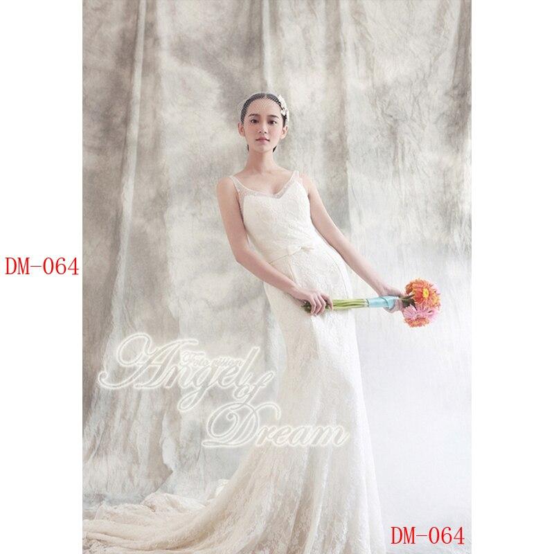 Décors de mousseline teints 10x10ft pour la photographie studio toile de fond de mariage vieux maître peint à la main décors de photographie DM-064
