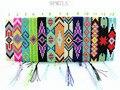 9PMZLS Hippy  Handmade Beads Friendship Bracelet  Beaded Charm Love Friendship Bracelet  Eye Bracelets For Women Men