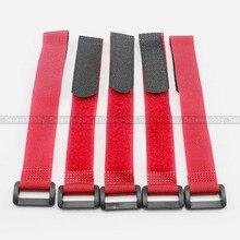 5Pcs 300mm Magic sticker Lipo Battery Nylon Velcro Strap RC model anti buckle tape Reusable Antiskid