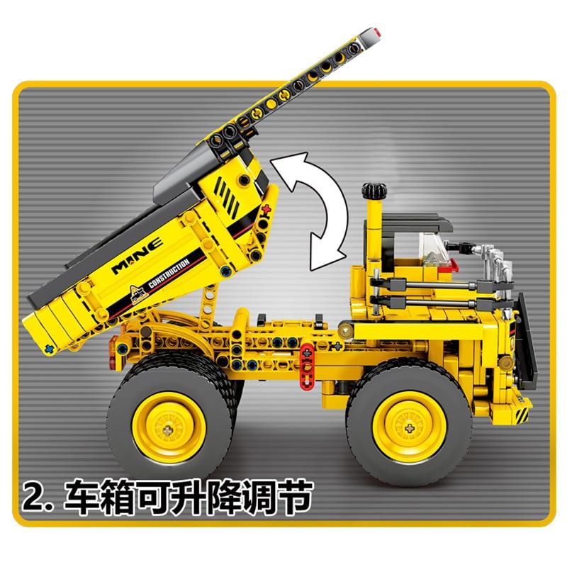 Technic-City-Mine-Truck-Engineering-Vehicle-Building-Blocks-City-Construction-Bricks-Educational-Toys-For-Children-Birthday (4)