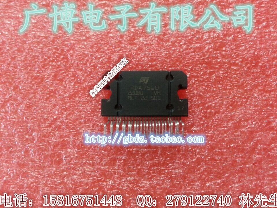 1PCS puente TDA7560 4x45W Quad Auto Radio Amplificador Plus