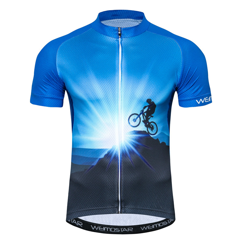 Weimostar Mountain Bike Cycling Jersey Shirt Summer Breathable Cycling Clothing Pro Team MTB Bicycle Jersey Top Maillot Ciclismo 1