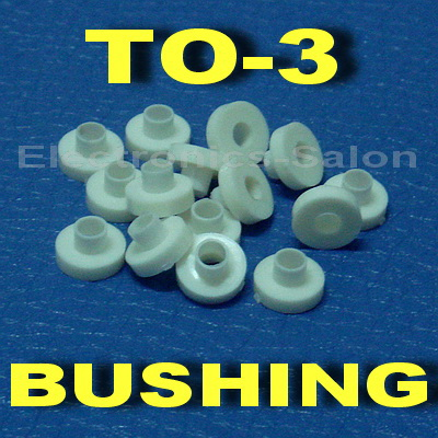 ( 1000 Pcs/lot ) Insulation Bushing For TO-3 Transistor, Washer.