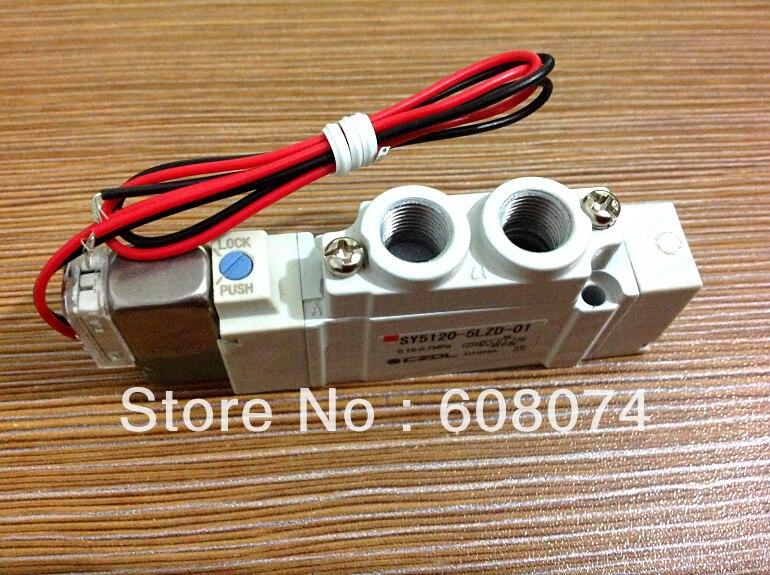 SMC TYPE Pneumatic Solenoid Valve  SY3220-6LZE-C4 smc type pneumatic solenoid valve sy3120 6lze c6