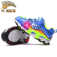 Dinoskulls office Children Glowing shoes for Boy Light Up autumn winter Kid Led Shoes Dinosaur Sneakers Trainer Boys Shoes 27 34