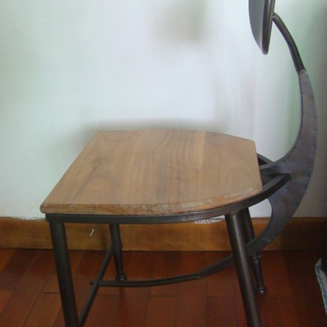 American retro chair selling vintage antique wrought iron chairs wood chairs  chair backrest can be customized - American Retro Chair Selling Vintage Antique Wrought Iron Chairs