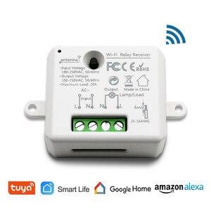 Image 2 - チュウヤスマートライフ無線lanソケット小型モジュールdiyのスマートホームオートメーションgoogleホームエコーalexa音声制御appリモコン