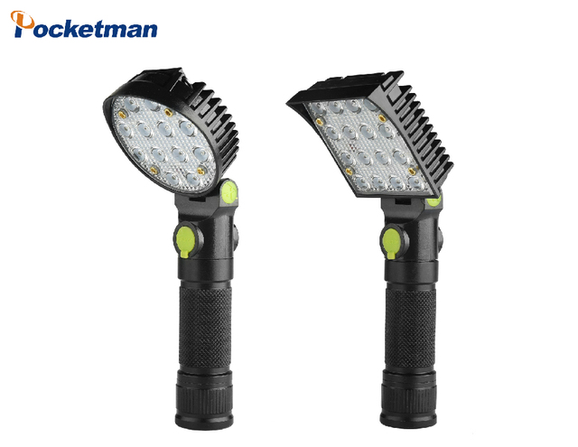 Big Promotion Ultra Bright COB LED Flashlight 4 Modes 5000 Lumens LED Torch 18650 Battery For Camping