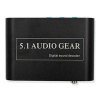1 PCS New Digital Audio Decoder 5 1 Audio Gear DTS AC 3 6CH Digital Audio