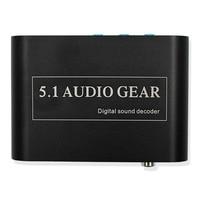 1 PCS New Digital Audio Decoder 5 1 Audio Gear DTS AC 3 6CH Digital Audio