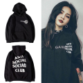 2016 ANTI SOCIAL SOCIAL CLUB Hoodies Women Men 1:1 High Quality 3M Reflective Brand Clothing ASSC Sweatshirts Tracksuit Hoodies