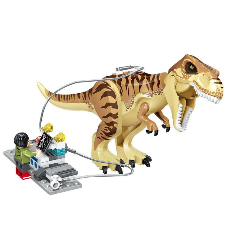 العالم الجوراسي بارك ديناصور Indominus ريكس اللبنات التعليمية لعب للأطفال هدية الكريسماس متوافق 75933
