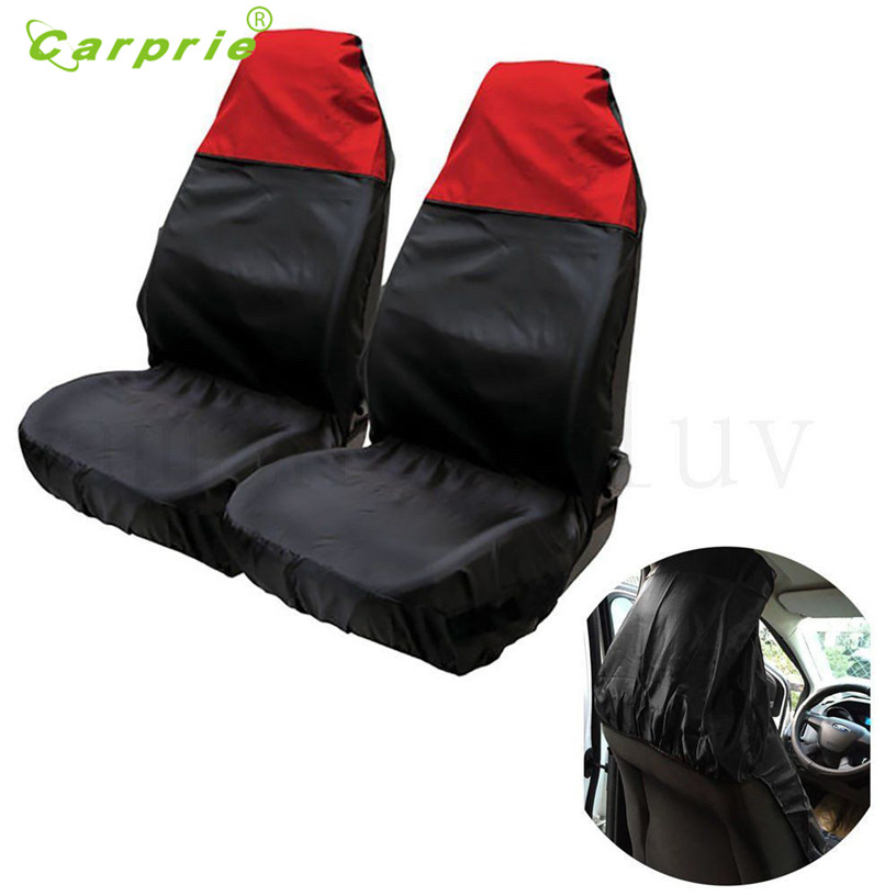 Dropship Hot Selling 1 Pair Heavy Duty Universal Waterproof Car Front Seat Covers Protector Seats Gift Aug 22