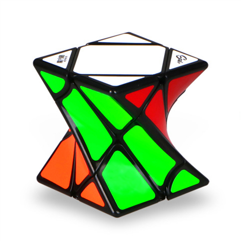 Newes QiYi Magic Cube Twisty Skewb Magic Cube Competition Speed Puzzle Cubes Toys For Children Kids cubo magico pastoral chandelier modern minimalist restaurant coffee bar decorated clothing creative arts chandelier