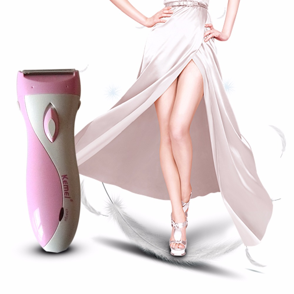 Hot Rechargeable Lady Epilator Skin-friendly Women Electric Shaver Hair Remover Female Shaving Scraping Epilators 3w rechargeable lady s body hair electric shaver ac 220 240v