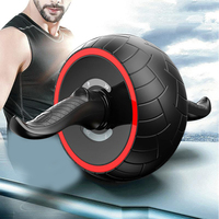 Abdominal Wheel Ab Roller Trainer Fitness Equipment Gym Exercise Rebound Wheel Workout Resistance Sports Body Building tools