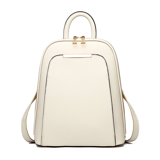 High Quality PU Leather Backpack For Women
