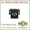 Visión nocturna coche cámara de visión trasera de aparcamiento cámara de marcha atrás para sony ccd toyota cámara 2009/2010/2011