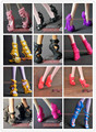 5 pairs / lot New Fashion Shoes for Monster High Orignal Doll girls gifts Christmas gifts Wholesale