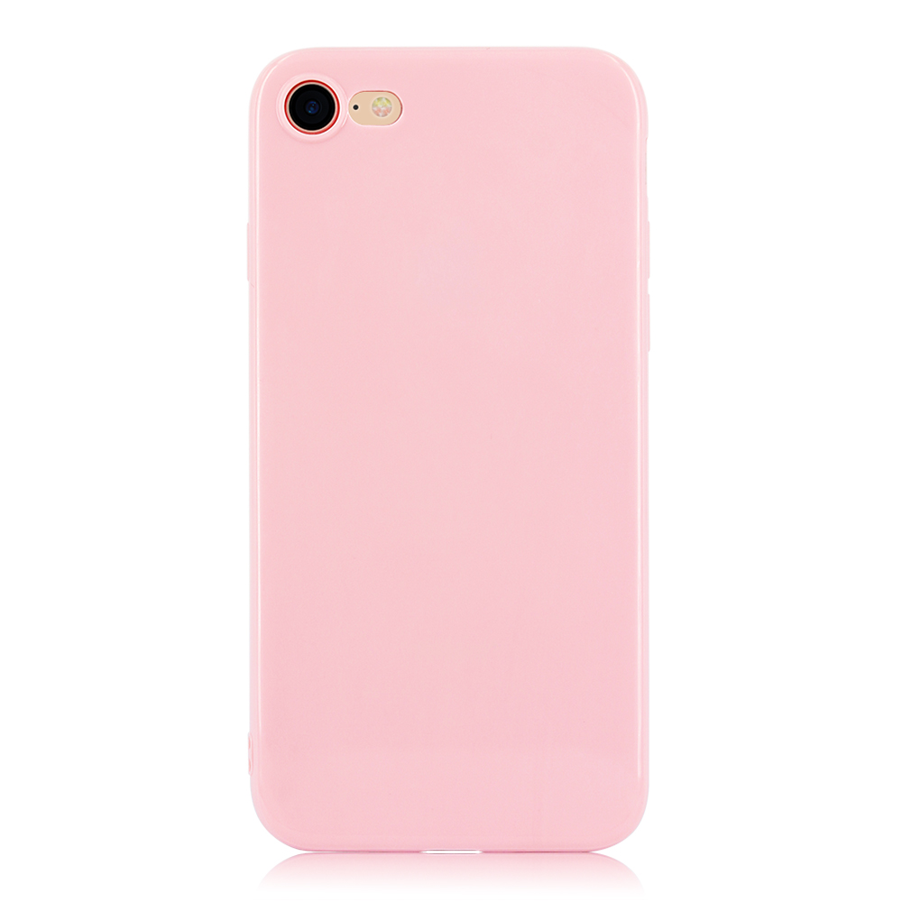KIP71147F_1_Smooth Pure Color Series Soft TPU Case for iPhone 7