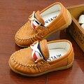 2016 Nueva moda único cuero de LA PU de los niños zapatos de bebé zapatos ventas calientes fresco casual zapatillas de deporte del bebé envío gratis