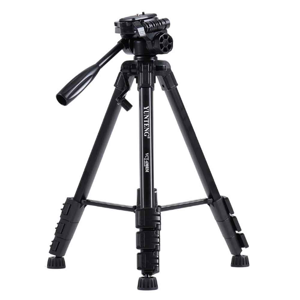 Yunteng VCT-690 Professional Protable Camera Tripod Stand with Carry Bag for Dslr Photography DV Smartphone Gopro Travel Photo yunteng vct 588 monopod