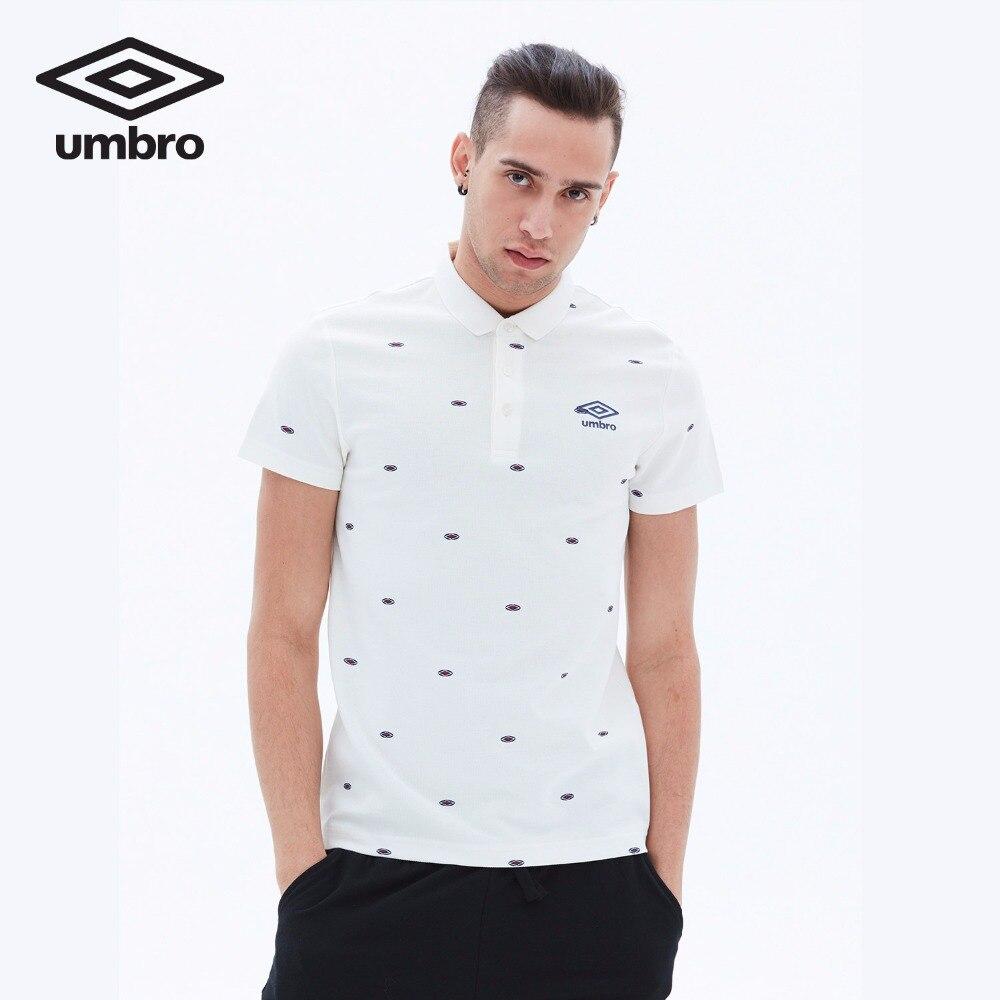Umbro Men New Summer Short Sleeve Polo Shirt Sports T-shirt Sportswear Tracksuit T-shirt Tee Tops UCC63101