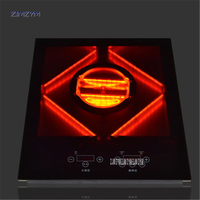 ZGJ600 infrared ray electric ceramic cooktop light wave cooker restaurant induction cooker Black Micro Crystal Panel 4200W power