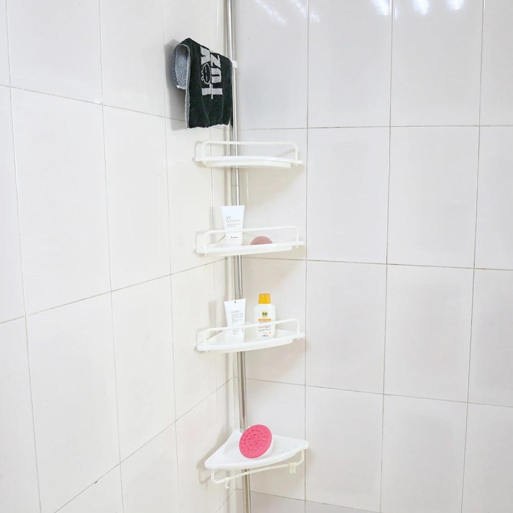 Bad Ecke Regal Rack Heavy Duty Ablage Wand Sauger Rand Kunststoff Organizer  Bad Regal Lagerung