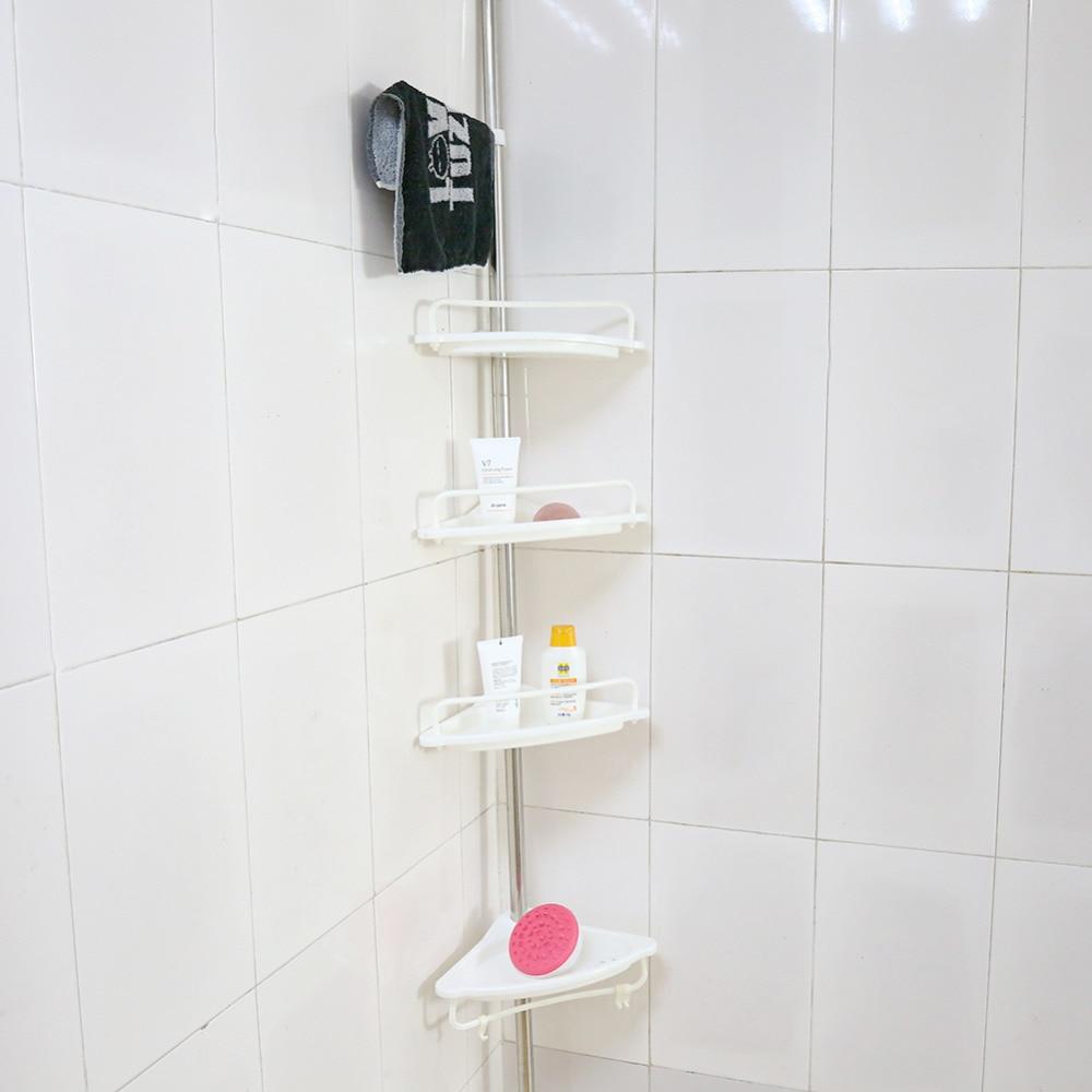 Portaoggetti Da Parete Per Cucina us $14.76 18% di sconto|bagno angolo mensola rack heavy duty vano  portaoggetti da parete ventosa bordo di plastica organizzatore di  stoccaggio
