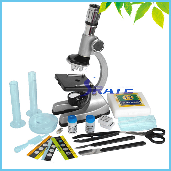 New Birthday  Gift 1200X Zoom Metal Monocular Biological Beginner Kids Children Student Educational Microscope professional biological microscope up and down leds 100x 600x 1200x students educational science lab monocular microscope metal